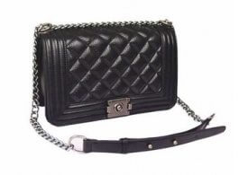 Chanel boy bag; Silver hardware; Jessica Buurman; Designer Dupes