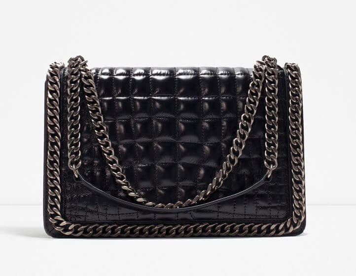 Chanel Boy Bag; SIlver Hardware; Zara; Designer Dupes