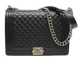Chanel Boy; Silver Hardware; Designer Dupes