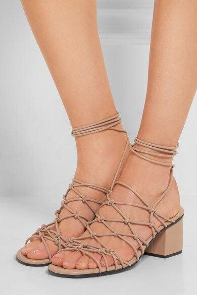Chloe;Knotted Sandals; Netaporter; Designer Dupes